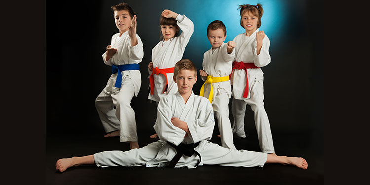 martial arts kids